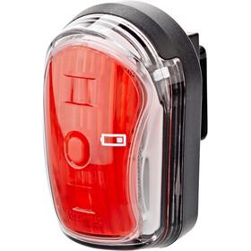 Litecco Cando USB Luce posteriore USB, black/red